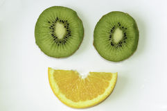 Sonrisa de la fruta Fotos de archivo libres de regalías