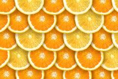 Naranja y limón jugosos imagen de archivo