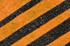 Naranja y rayas negras Imagen de archivo