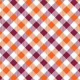 Naranja y rojo cereza del modelo de la guinga Texturice para - de la tela escocesa, manteles, ropa, camisas, vestidos, papel, lec libre illustration