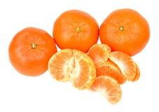 Naranjas de la satsuma fotografía de archivo libre de regalías