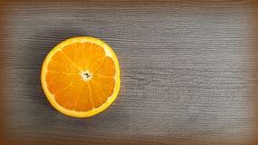 Naranjas en el vector Imagen de archivo