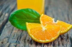 Naranjas frescas Foto de archivo libre de regalías