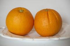 Naranjas frescas y jugosas foto de archivo