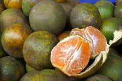 Naranjas jugosas Imagen de archivo