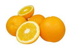 Naranjas maduras Imágenes de archivo libres de regalías