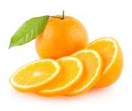 Naranjas maduras foto de archivo libre de regalías