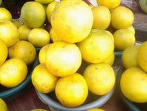 Naranjas maduras frescas Foto de archivo libre de regalías