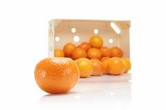 Naranjas o clementinas Fotografía de archivo libre de regalías