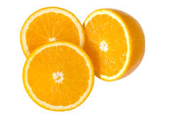 Naranjas rebanadas Foto de archivo
