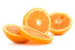Naranjas rebanadas imágenes de archivo libres de regalías