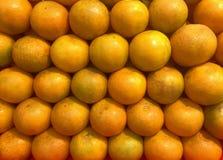Naranjas - ricos de la vitamina C Imagen de archivo libre de regalías