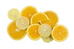 Naranjas y limones Foto de archivo libre de regalías