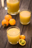 Naranjilla ή χυμός Lulo Στοκ Φωτογραφίες