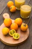 Naranjilla or Lulo Fruits Royalty Free Stock Photo