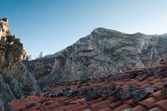 Naranjo de Bulnes. Peak of Naranjo de Bulnes, Picos de Europa (Asturias, Spain Stock Photography