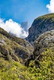 Naranjo de Bulnes en Picos de Europa Foto de archivo libre de regalías