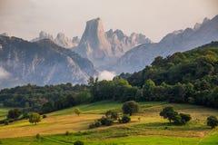 Naranjo de Bulnes known as Picu Urriellu in Asturias, Spain Royalty Free Stock Photography