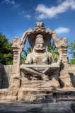 Narasimha statue in Hampi Royalty Free Stock Photos