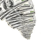 narastający pieniądze Zdjęcie Royalty Free