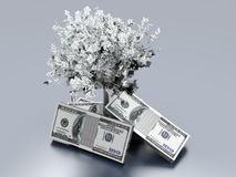 Narastający Pieniądze royalty ilustracja