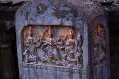 Narayan świątynia w Kathmandu dolinie Nepal Obraz Stock