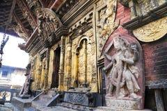 narayan nepal för changu tempel Royaltyfri Fotografi