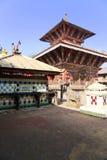 narayan nepal för changu tempel Royaltyfria Bilder