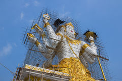 Narayana(God of Hinduism) under construction Royalty Free Stock Photography