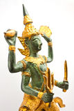 NARAYANA THAI SCULPTURE Royalty Free Stock Photography