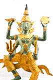 NARAYANA THAI SCULPTURE Royalty Free Stock Image