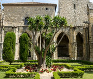 Narbonne, cathedral cloister Royalty Free Stock Photos