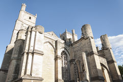 Narbonne Cathedral Stock Images