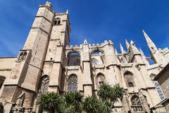Narbonne Cathedral Royalty Free Stock Images