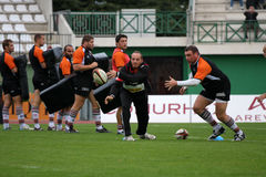 Narbonne contre le Bordeaux-Begles photo stock
