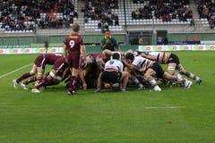 Narbonne contro il Bordeaux-Begles Fotografia Stock Libera da Diritti