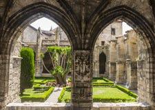 Narbonne domkyrkakloster Royaltyfria Foton
