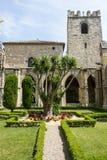 Narbonne, kathedraalklooster royalty-vrije stock afbeeldingen