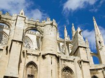 Narbonne - saint just Royalty Free Stock Image