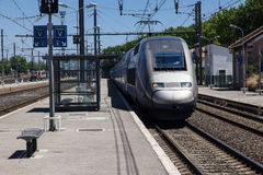 Narbonne Train Station France Stock Photos