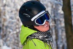 narciarka Obrazy Stock