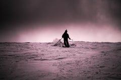narciarka Obraz Stock