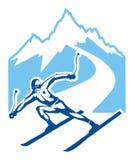 narciarka Zdjęcia Royalty Free