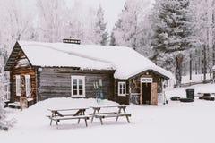 narciarka prowincji Obraz Royalty Free