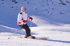 narciarka refundacji Zdjęcia Stock