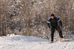 narciarki skrzydło Obrazy Royalty Free