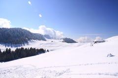 narciarscy skłony Obrazy Royalty Free