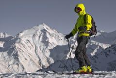 narciarska wycieczka turysyczna Zdjęcie Royalty Free