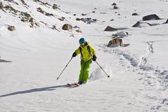 narciarska wycieczka turysyczna Fotografia Stock