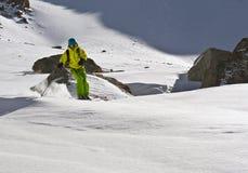 narciarska wycieczka turysyczna Fotografia Royalty Free